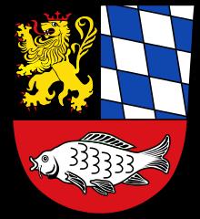 Wappen der Stadt Eschenbach in der Oberpfalz