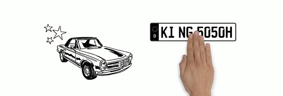 H-Kennzeichen: Zulassung mit Oldtimerkennzeichen, Kosten, Versicherung & Steuer