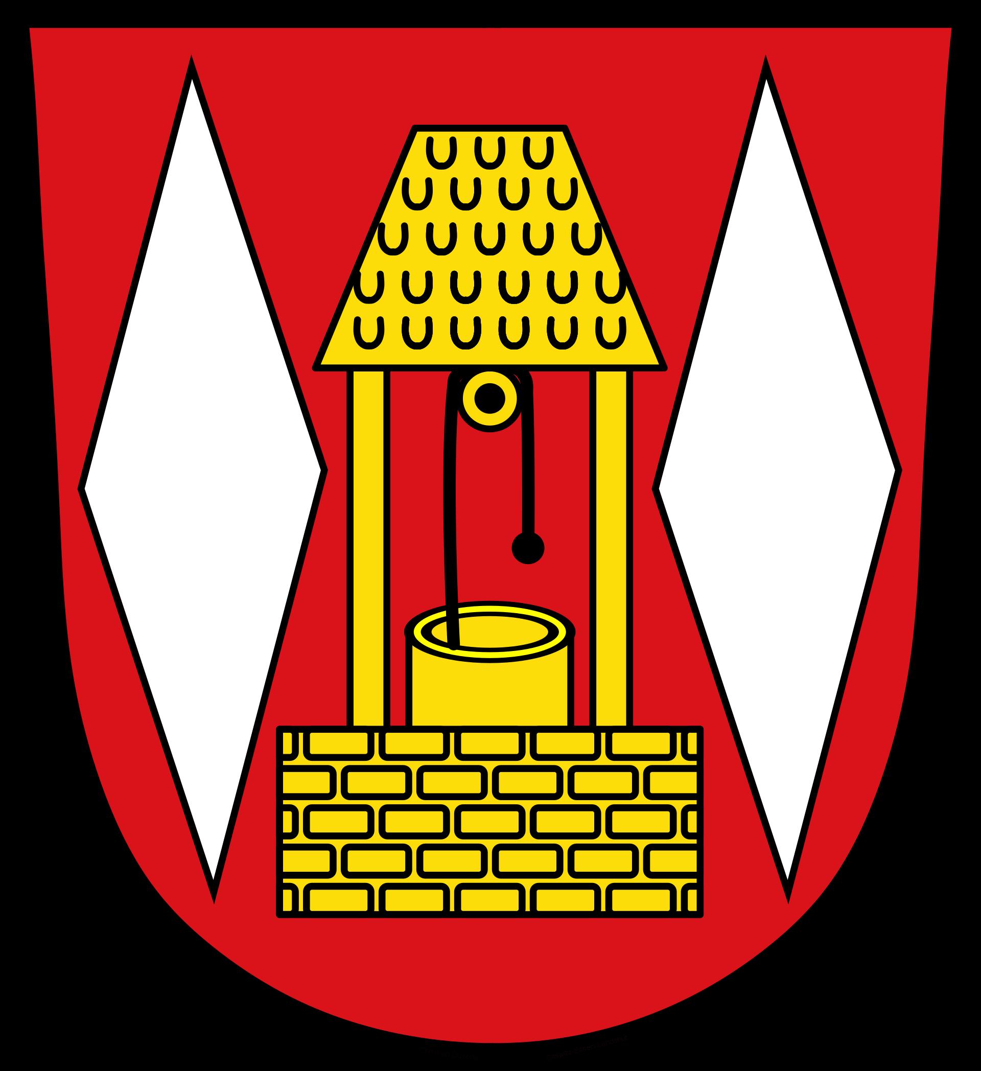 Wappen der Stadt Grasbrunn