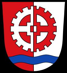 Wappen der Stadt Gersthofen