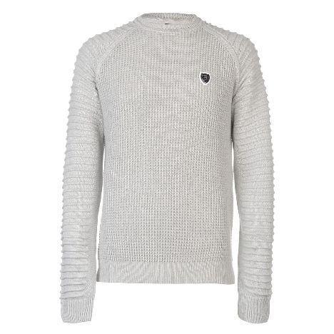 6716b794c5 883 Police Don Regular Fit Crew Sweater (55101570 0)