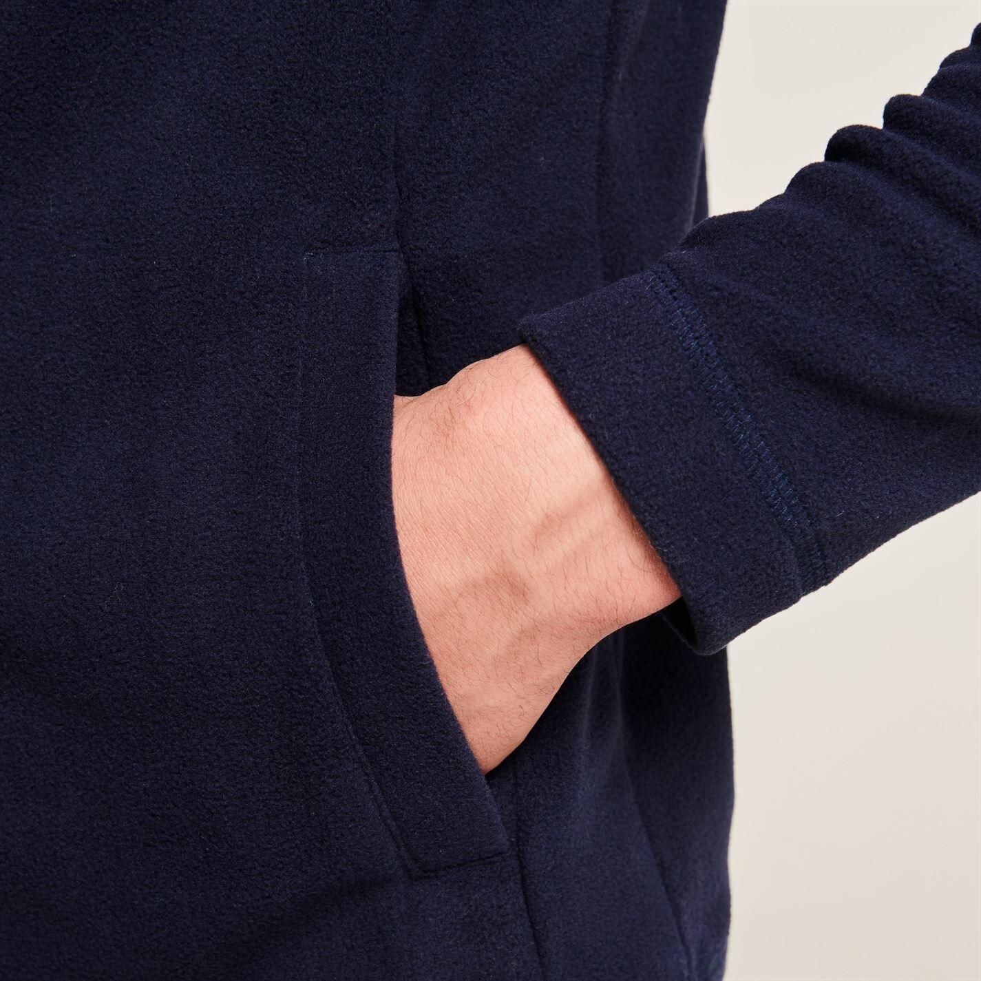 Gelert Mens Ottawa Fleece Jacket Full Zip Top Coat Sweatshirt Jumper Lightweight