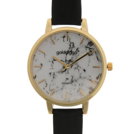Golddigga Quartz Marble Watch Ladies (94611206 6) 1317ed73be4