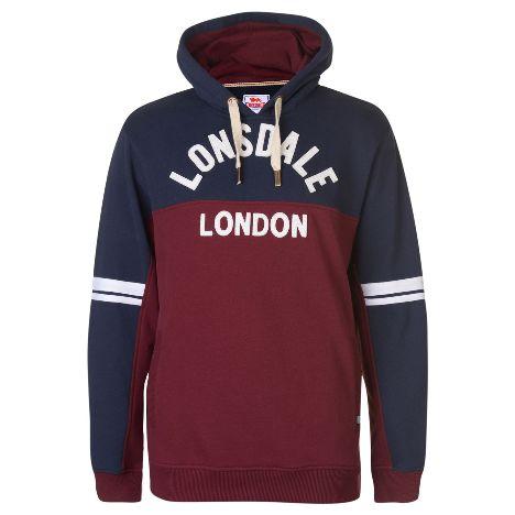 Lonsdale Heritage OTH Hoody Mens (53503322 2) 6589fd0251c