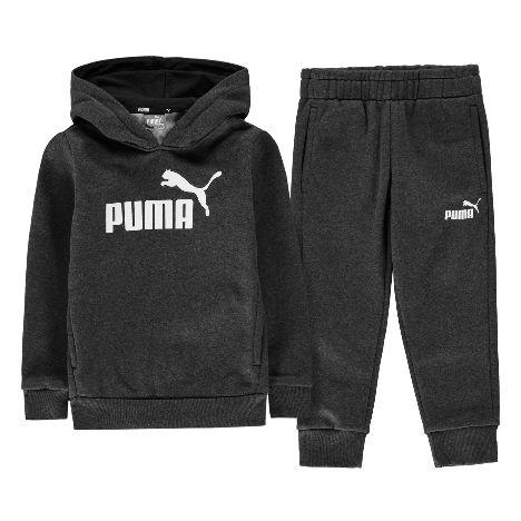 2a7bb3e1b89d Puma Hooded Jogger Fleece Tracksuit Infant Boys (31806826 6)