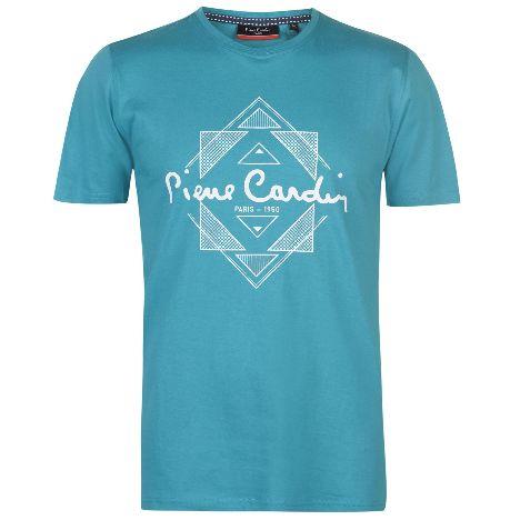 de7734b8b58a Pierre Cardin Print T Shirt Mens (59903029 9)