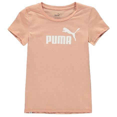 Puma Logo Print T Shirt Junior Girls (614244-61424491) a243641e6e2