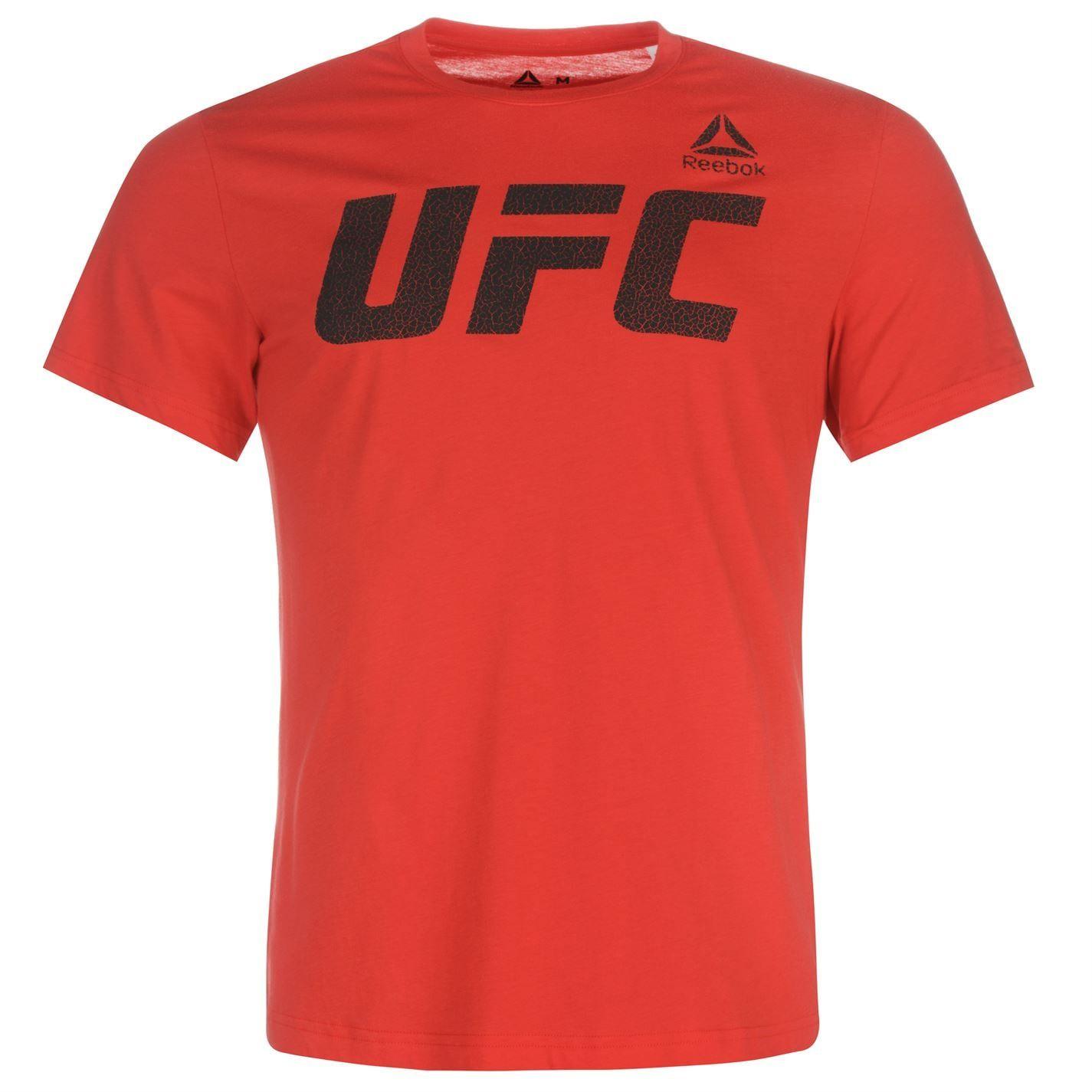 24f6cd70d9e9 Reebok UFC Κοντομάνικο μπλουζάκι ανδρικό (590521-59052108) - Woomie.gr