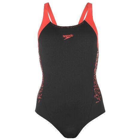 c5c829a315a Speedo Boom Splice Muscleback Swimsuit Ladies (40019544_4)