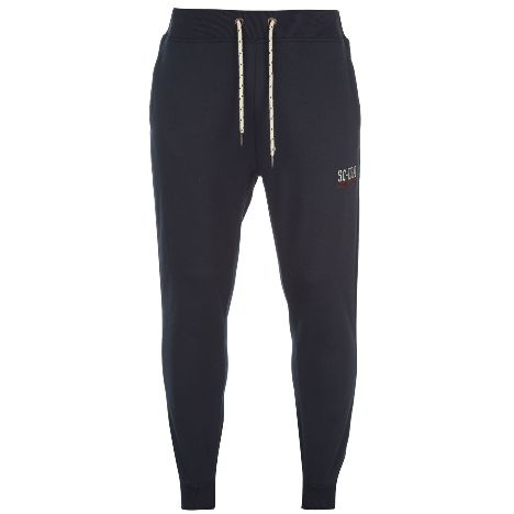 83e908350db1 SoulCal Stripe Fleece Jogging Bottoms Mens (48820022 2)