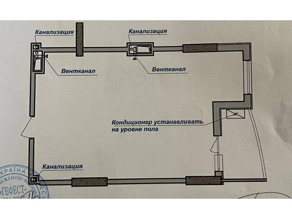 1-комнатная квартира, 51.75 м2, 62100 у.е.