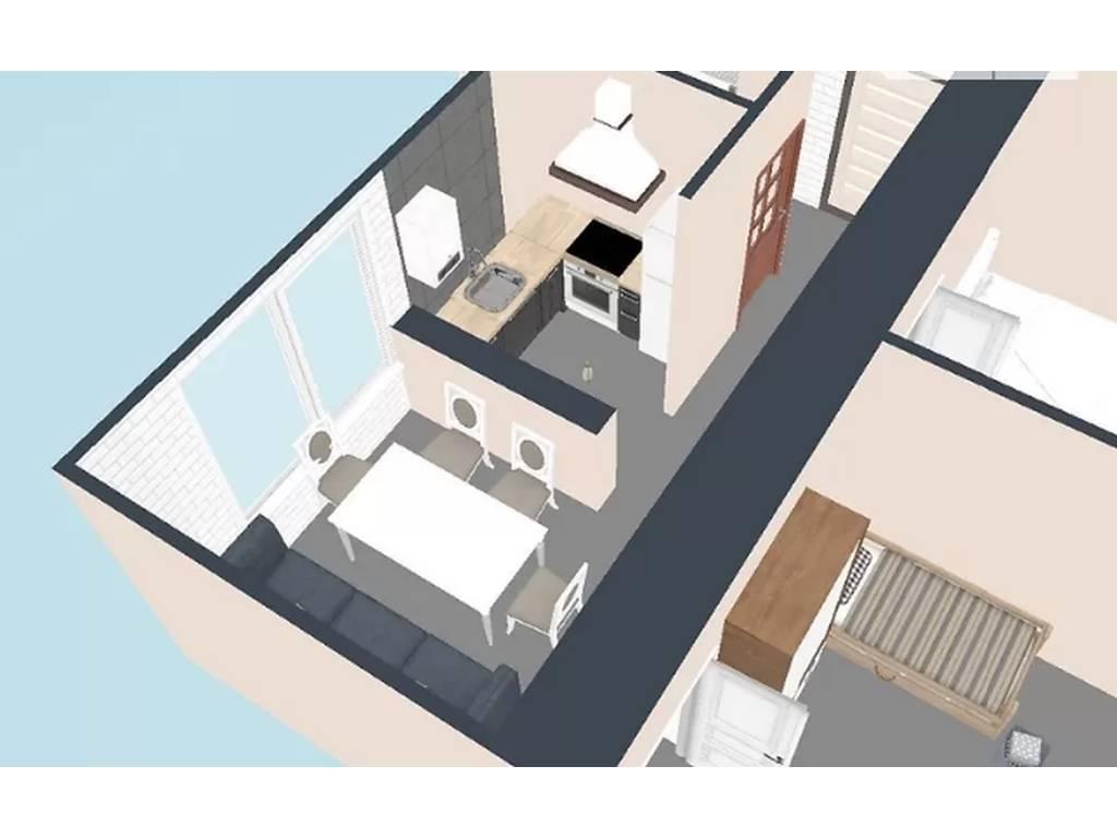 2-комнатная квартира, 53.00 м2, 48900 у.е.
