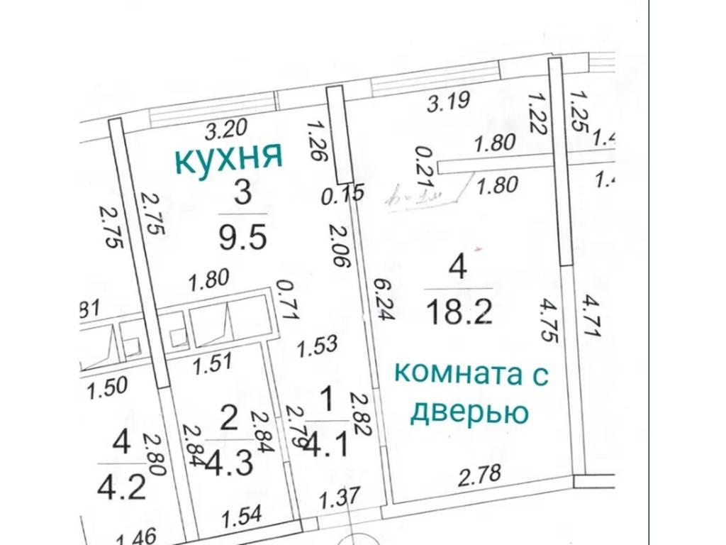 1-комнатная квартира, 36.00 м2, 75000 у.е.