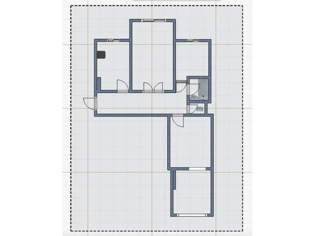 3-комнатная квартира, 70.00 м2, 55000 у.е.