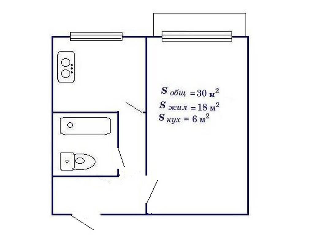 1-комнатная квартира, 38.00 м2, 31500 у.е.