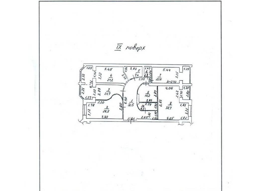4-комнатная квартира, 198.00 м2, 185000 у.е.