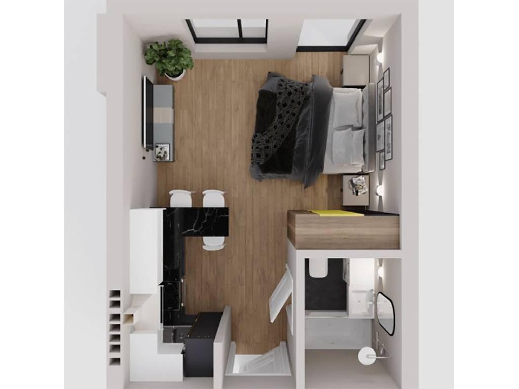 1-комнатная квартира, 23.00 м2, 20500 у.е.
