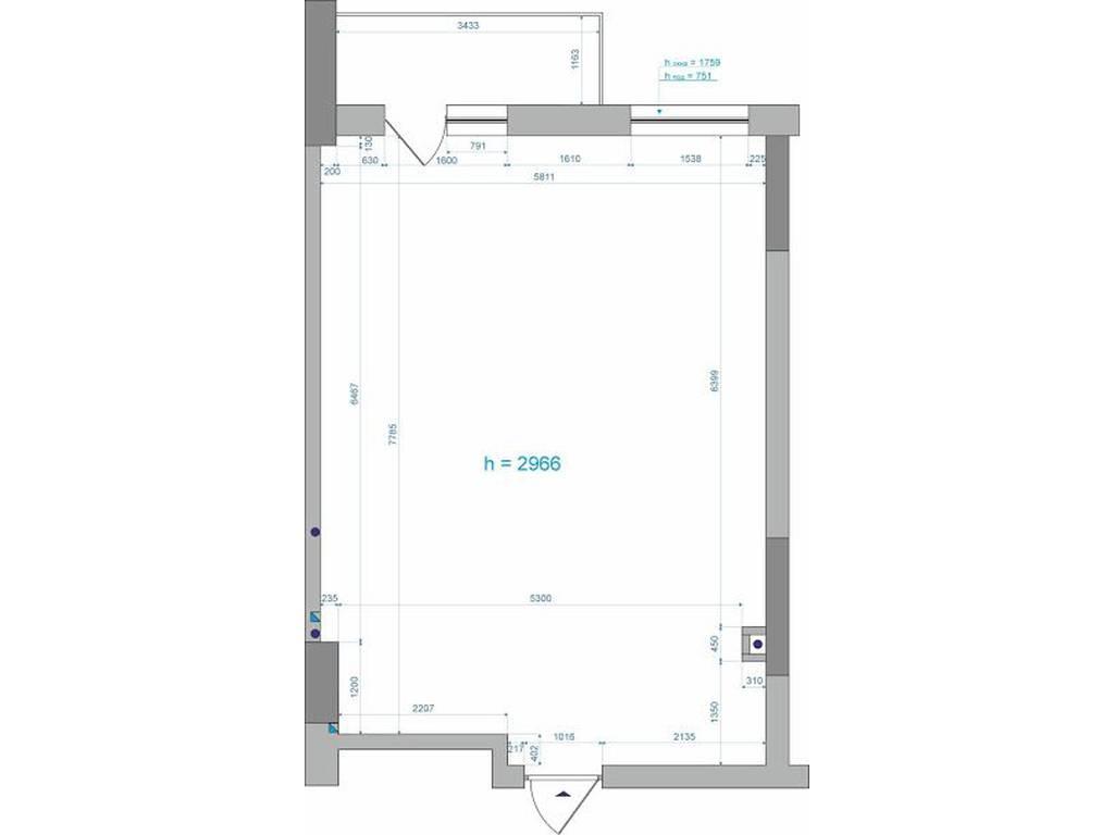 1-комнатная квартира, 48.00 м2, 48000 у.е.