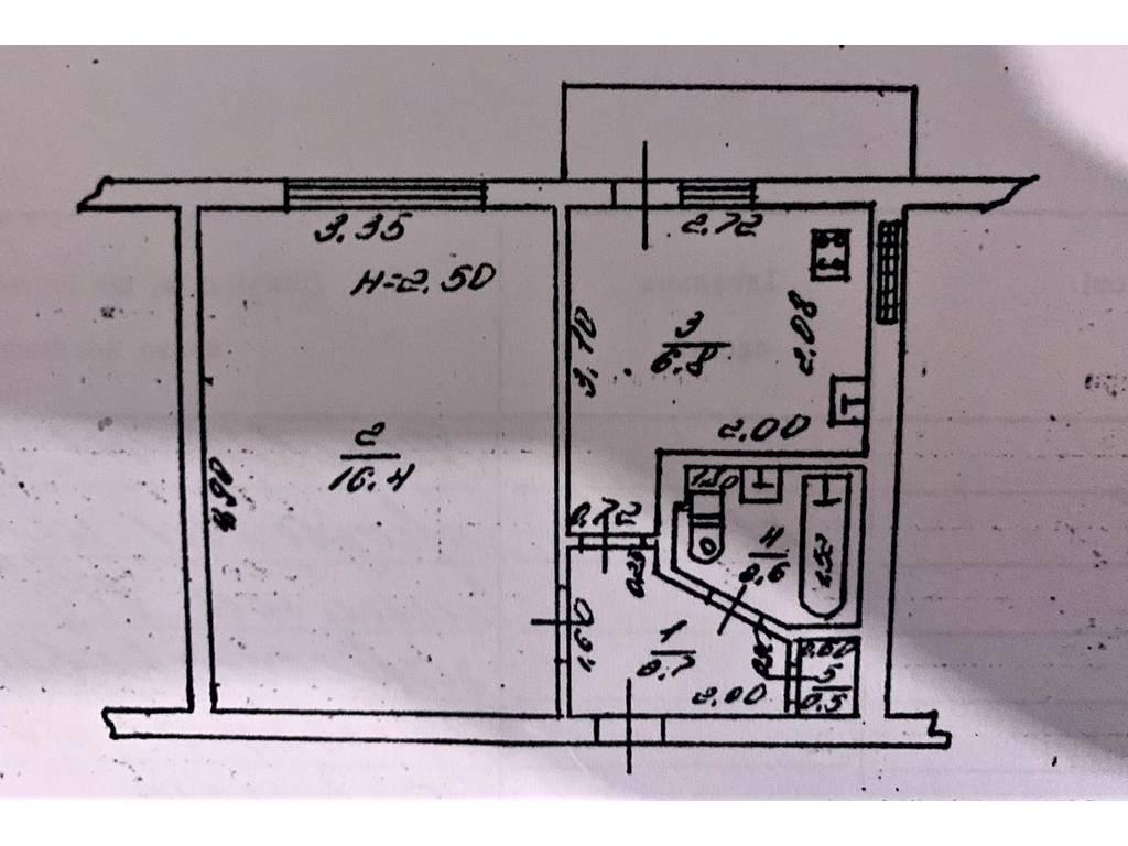 1-комнатная квартира, 30.00 м2, 33200 у.е.