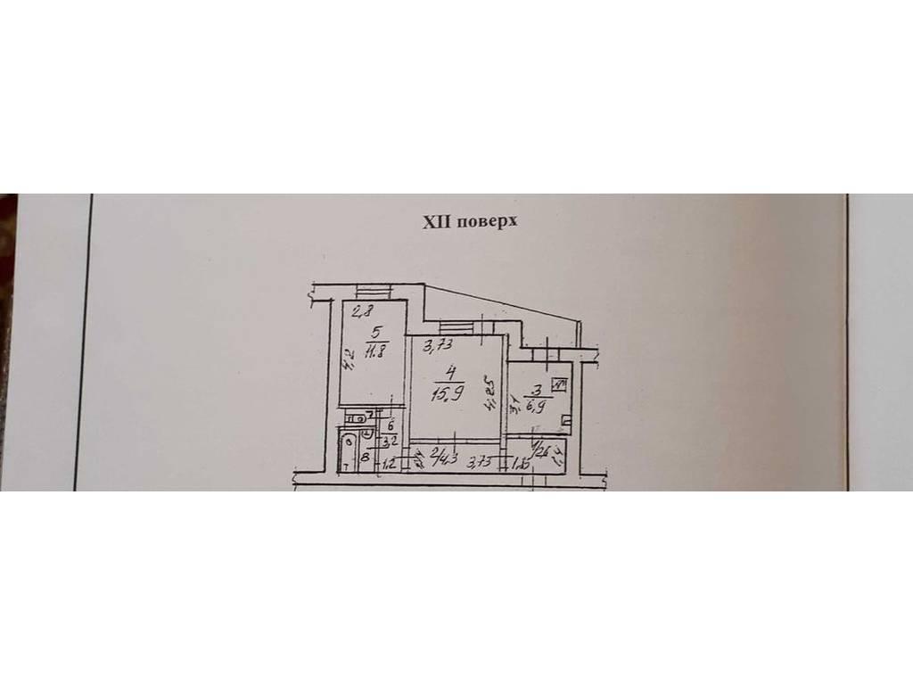 2-комнатная квартира, 52.00 м2, 46000 у.е.
