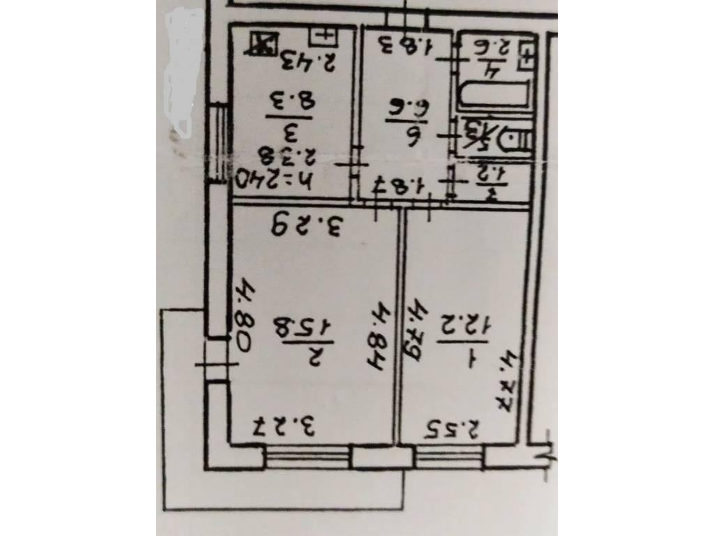2-комнатная квартира, 50.00 м2, 38000 у.е.