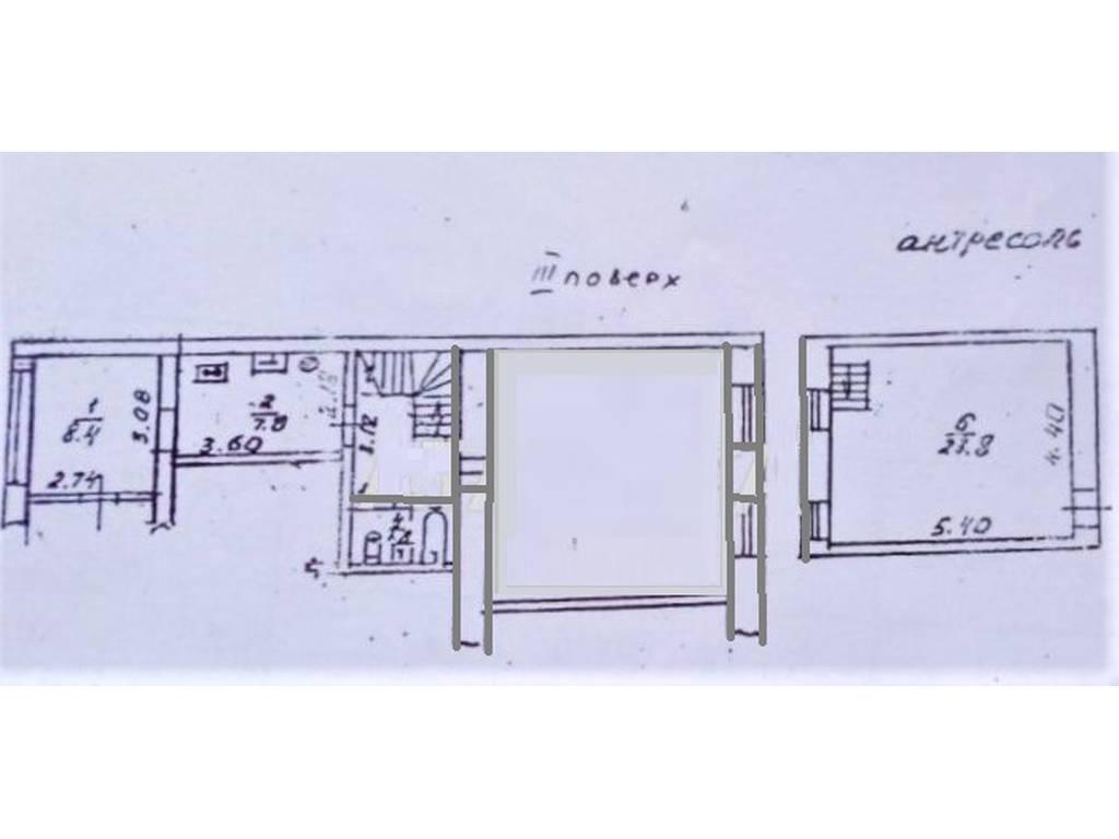 2-комнатная квартира, 80.00 м2, 56000 у.е.