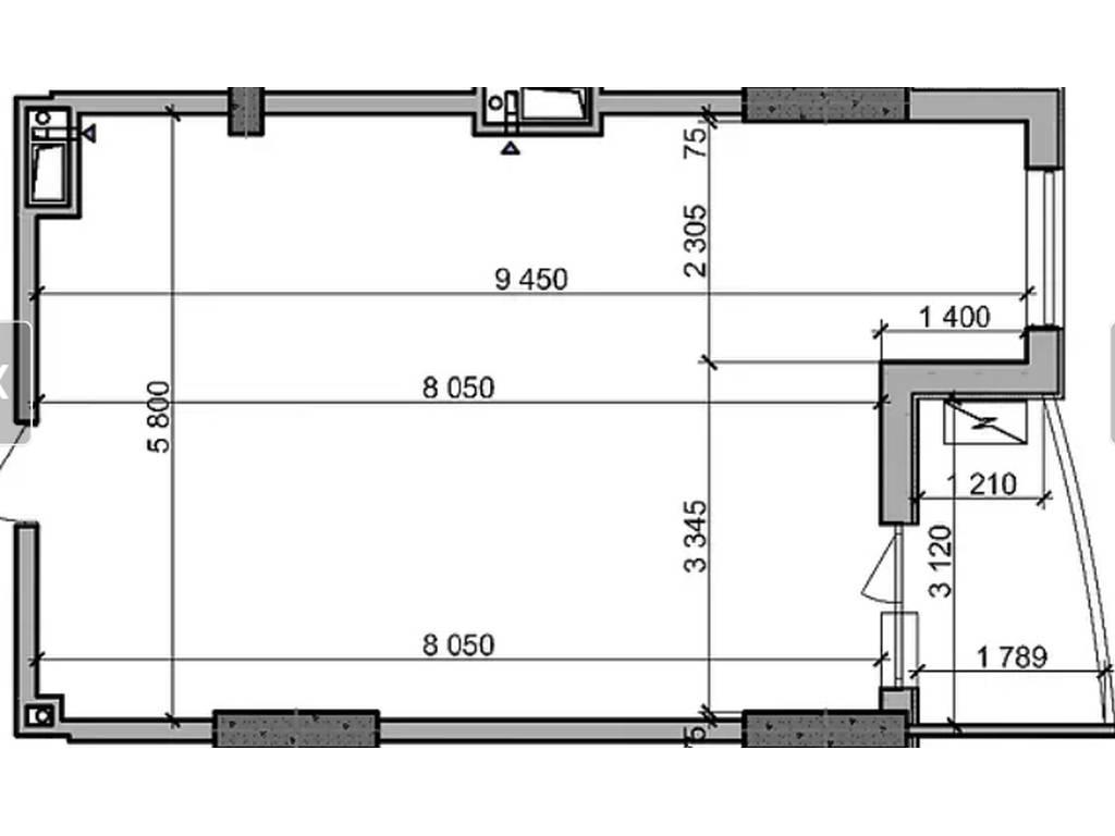 1-комнатная квартира, 54.03 м2, 54030 у.е.