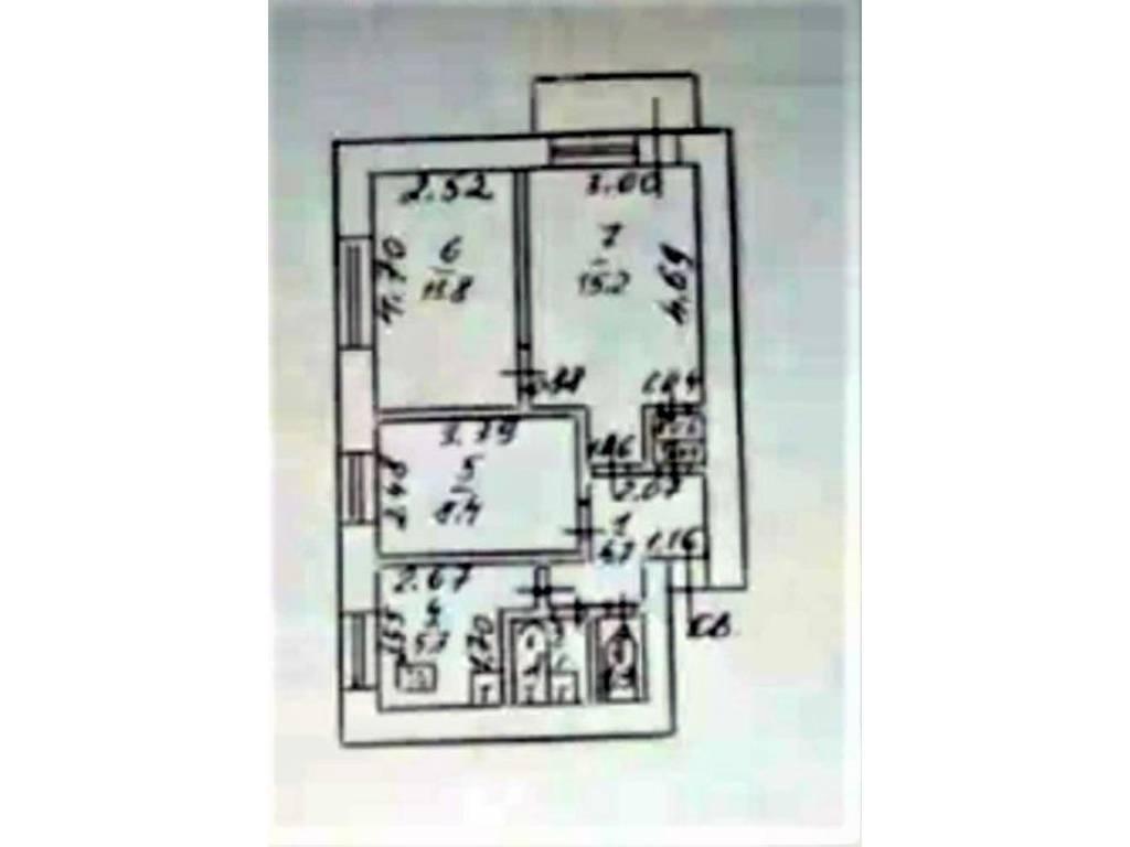 3-комнатная квартира, 51.00 м2, 35000 у.е.