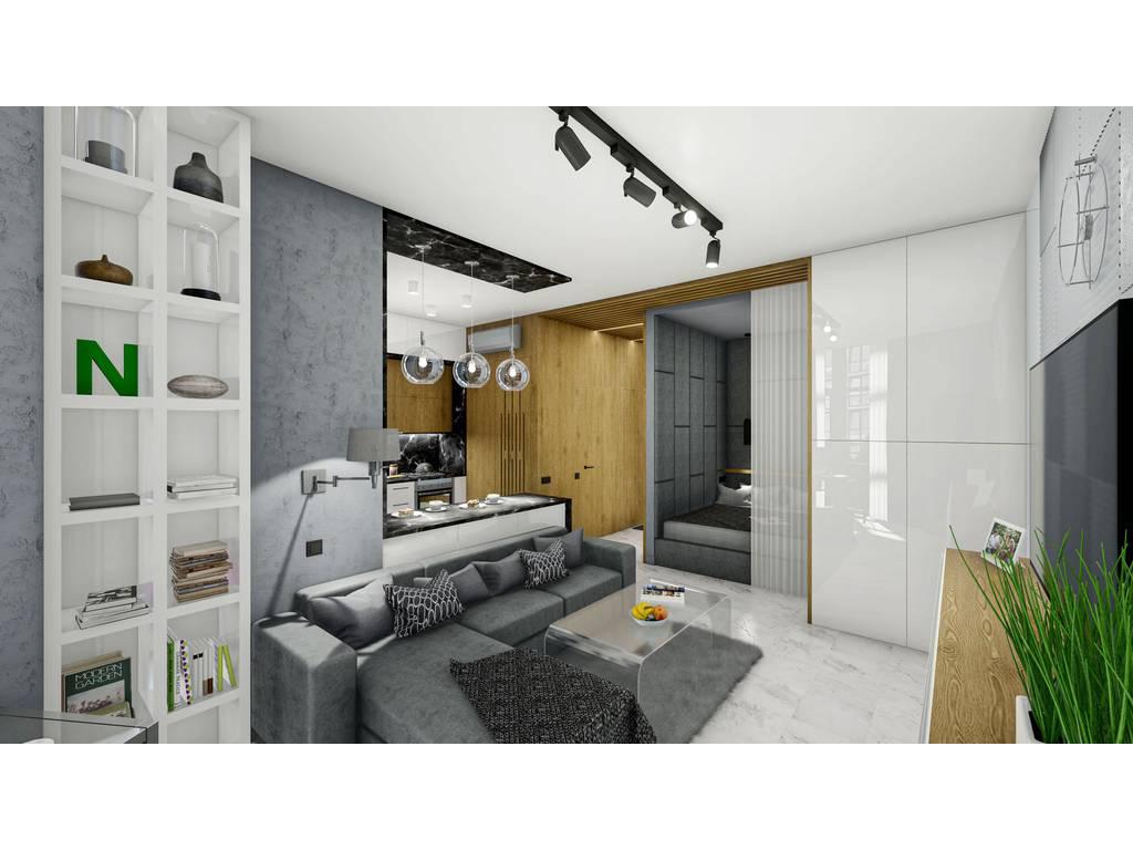 2-комнатная квартира, 51.40 м2, 45950 у.е.