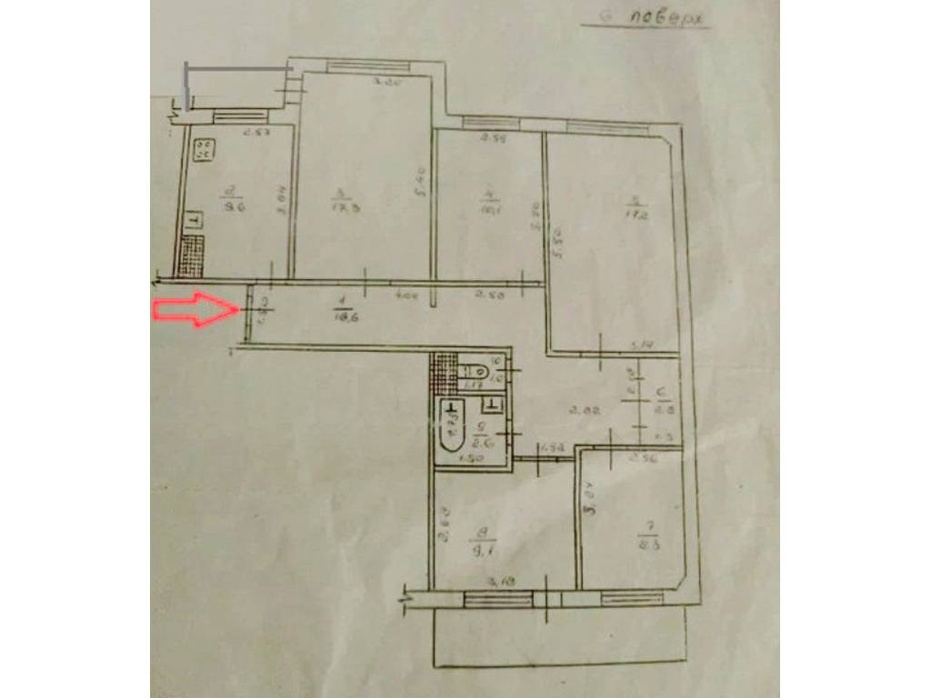 5-комнатная квартира, 103.00 м2, 50000 у.е.