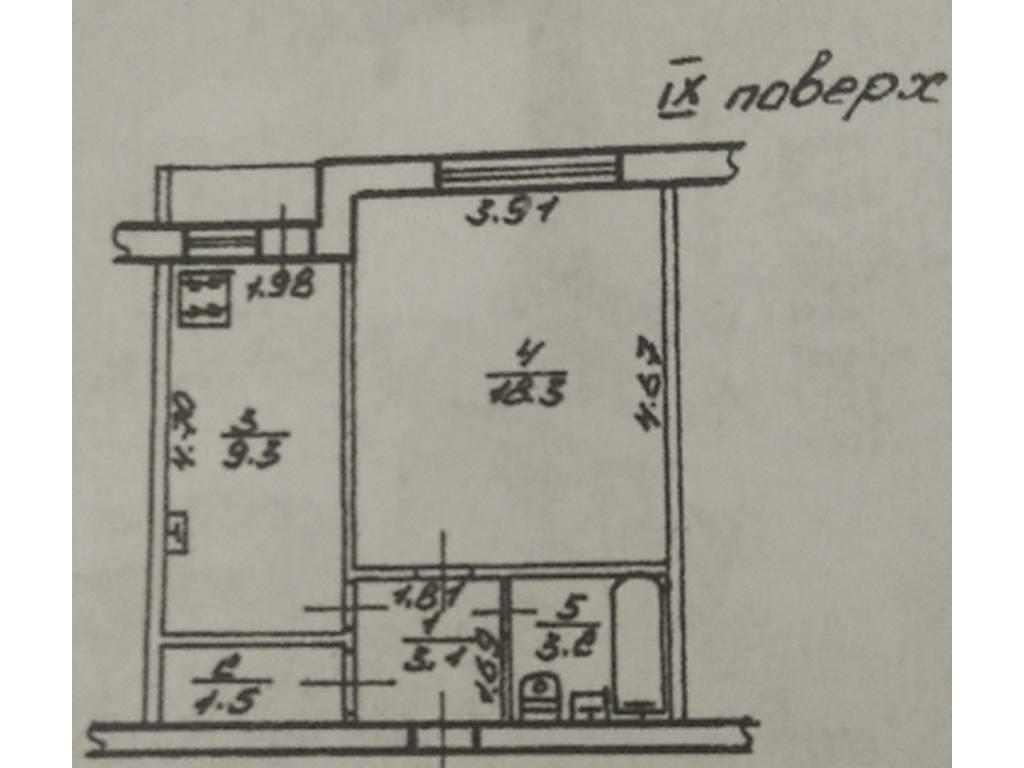 1-комнатная квартира, 36.00 м2, 29000 у.е.