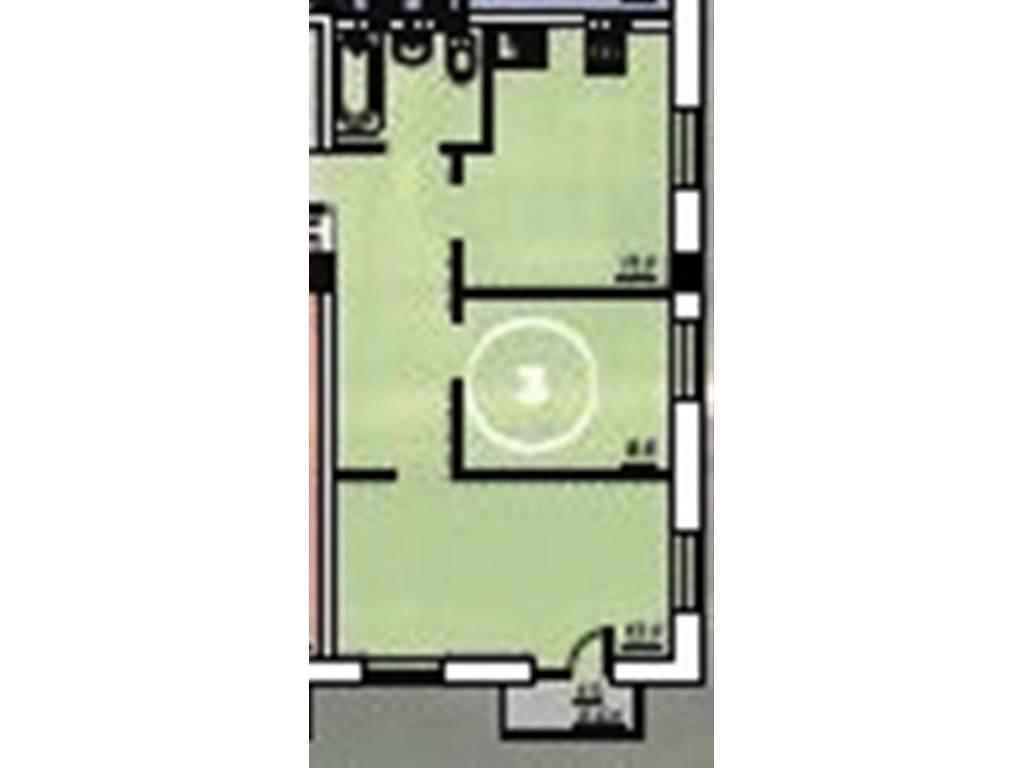 2-комнатная квартира, 47.50 м2, 37640 у.е.