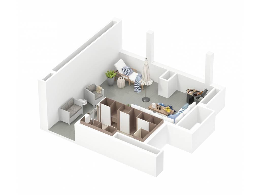 4-комнатная квартира, 158.30 м2, 114292 у.е.
