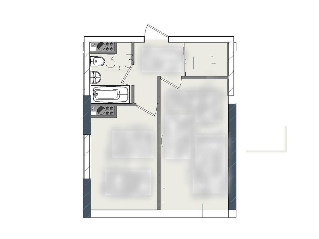 1-комнатная квартира, 33.00 м2, 31000 у.е.