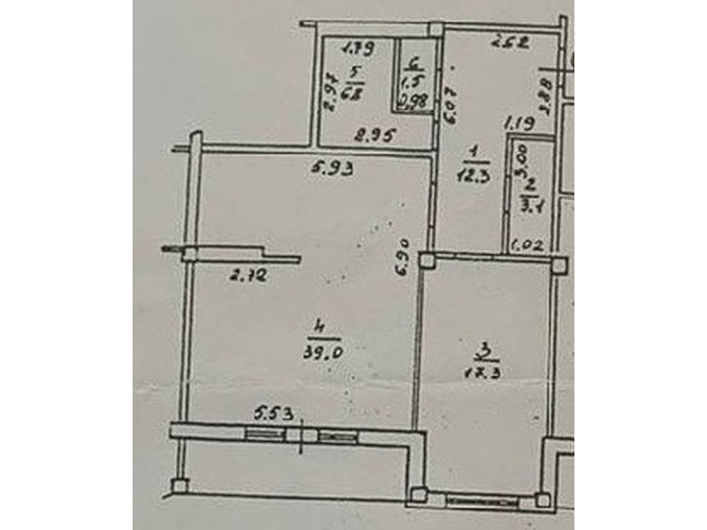 2-комнатная квартира, 90.00 м2, 72000 у.е.