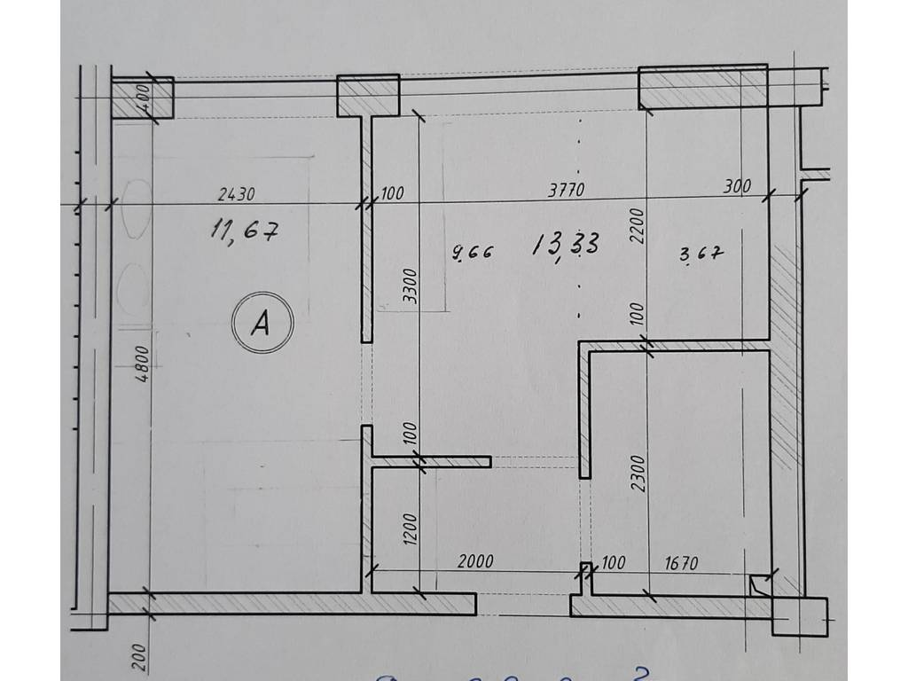 1-комнатная квартира, 30.00 м2, 42000 у.е.