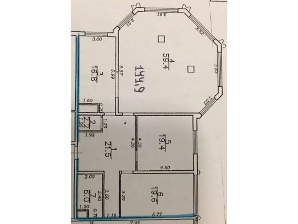4-комнатная квартира, 145.00 м2, 175000 у.е.
