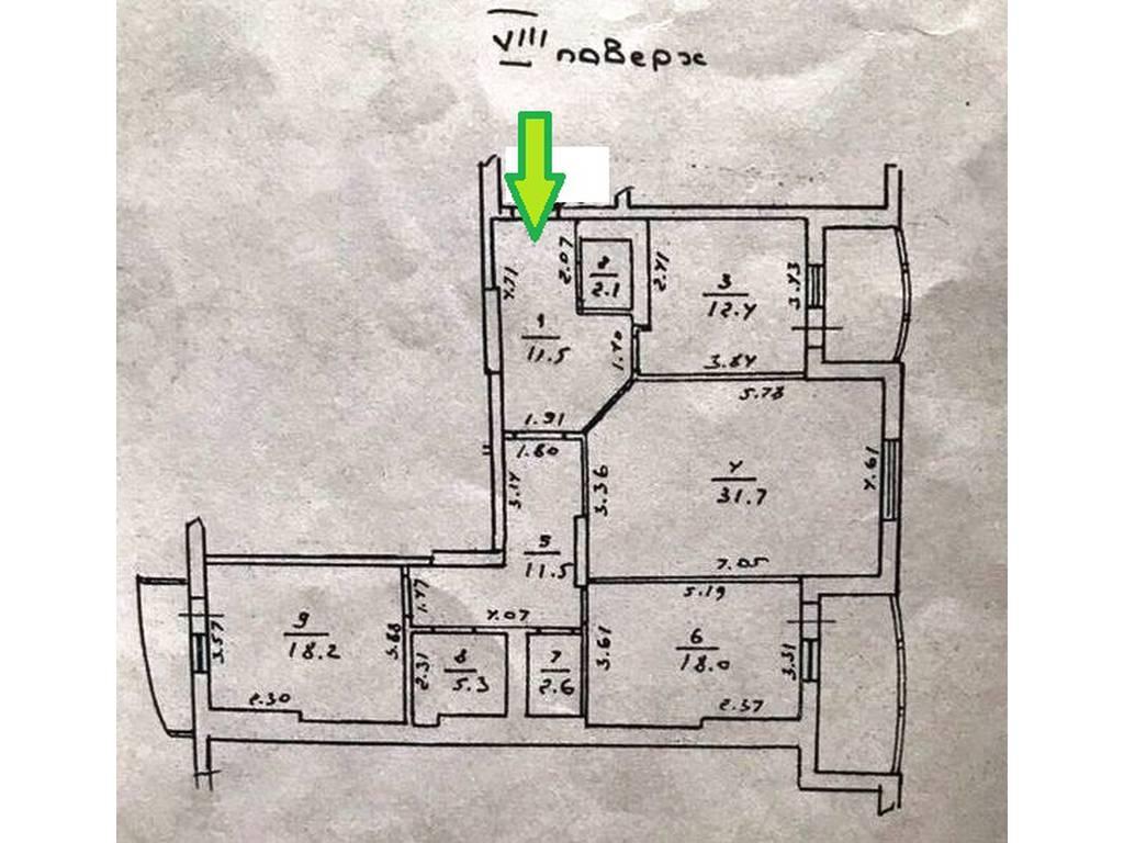 3-комнатная квартира, 130.00 м2, 150000 у.е.