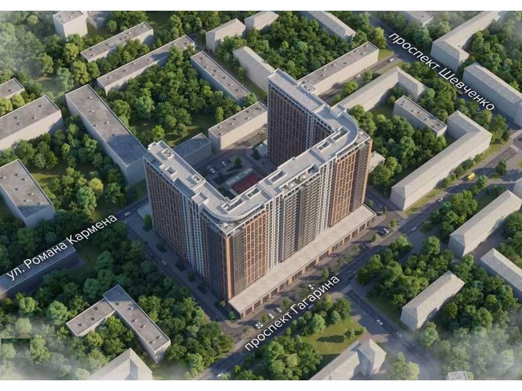 1-комнатная квартира, 42.80 м2, 64200 у.е.