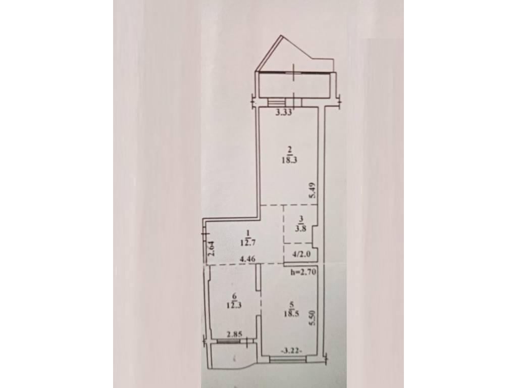 2-комнатная квартира, 80.00 м2, 92000 у.е.