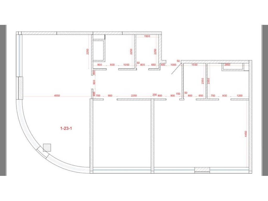 3-комнатная квартира, 110.00 м2, 160000 у.е.