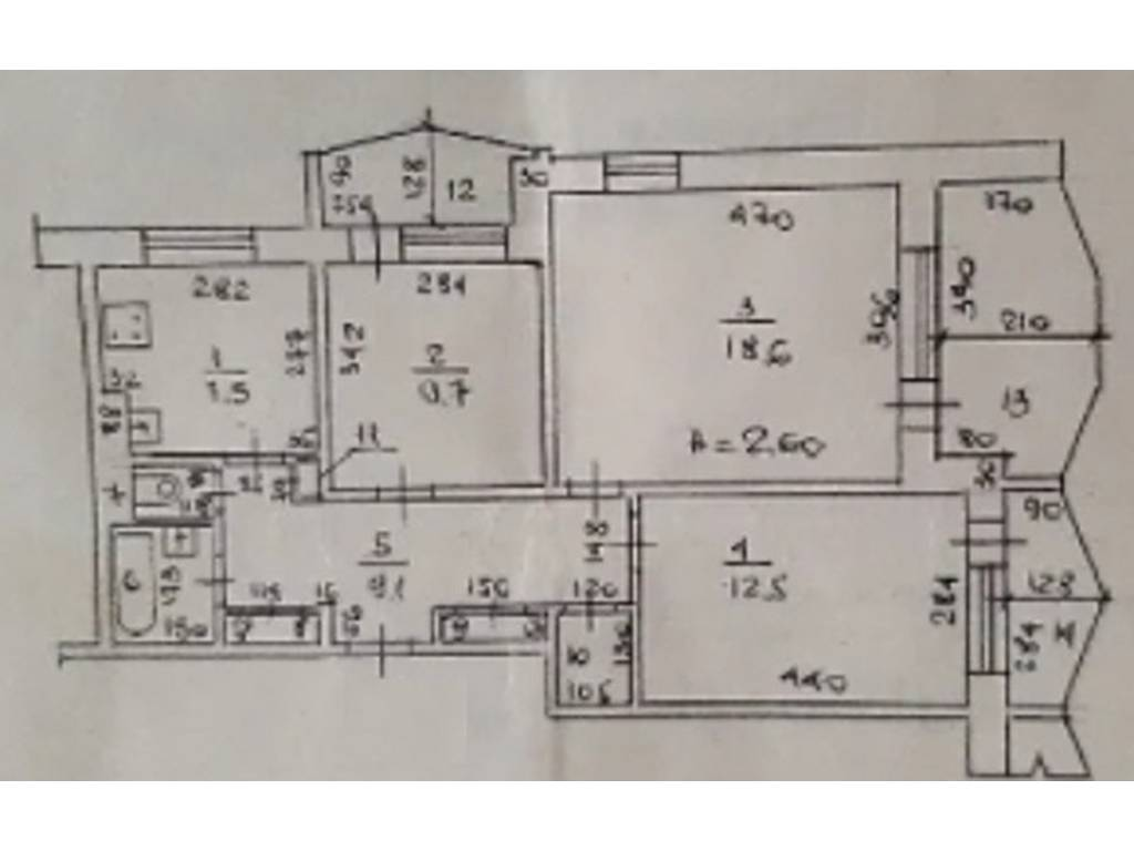 3-комнатная квартира, 71.00 м2, 50000 у.е.