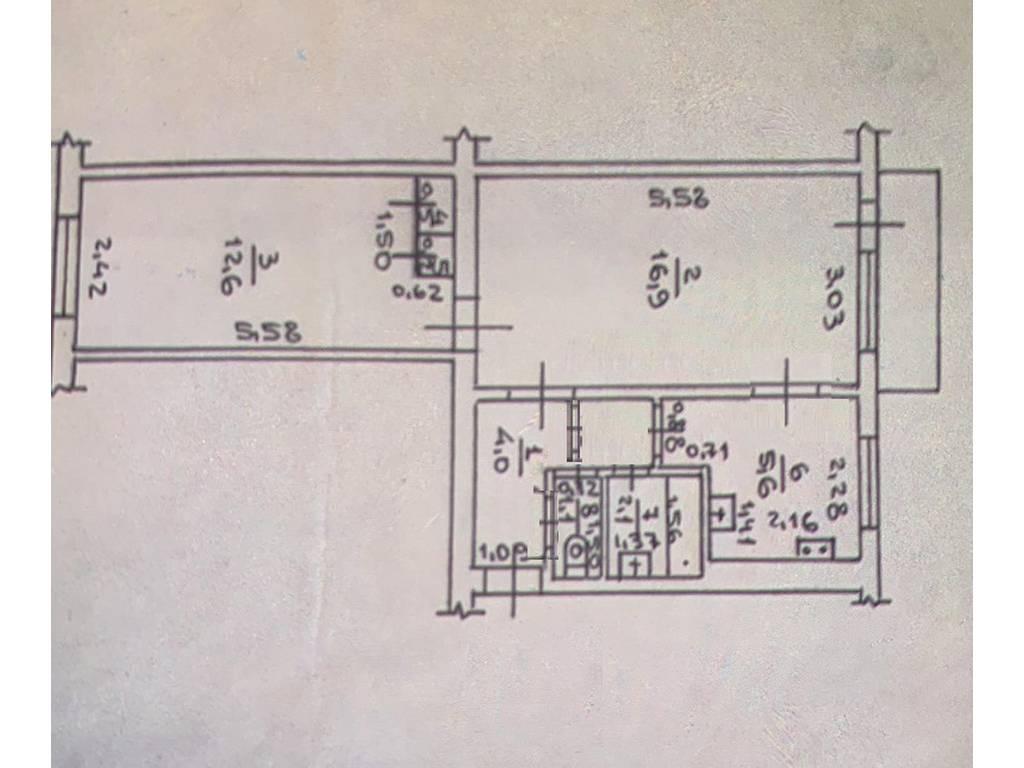 2-комнатная квартира, 44.00 м2, 53000 у.е.