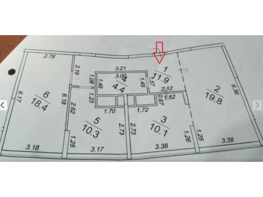 3-комнатная квартира, 75.00 м2, 100000 у.е.