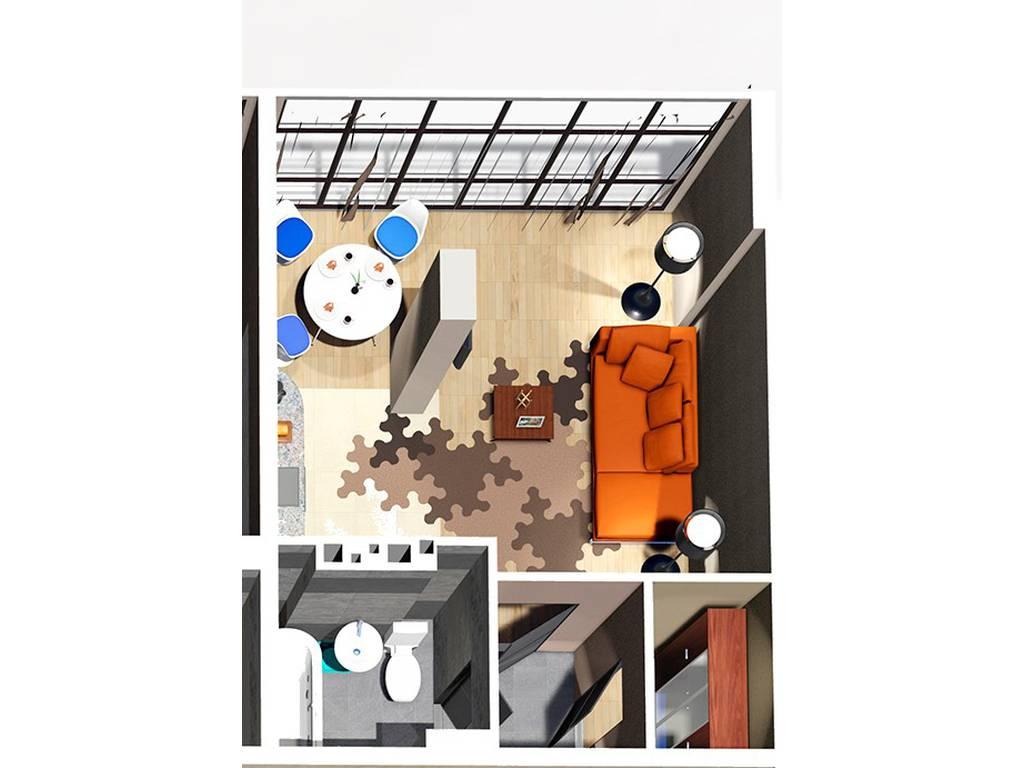 1-комнатная квартира, 37.50 м2, 42187 у.е.