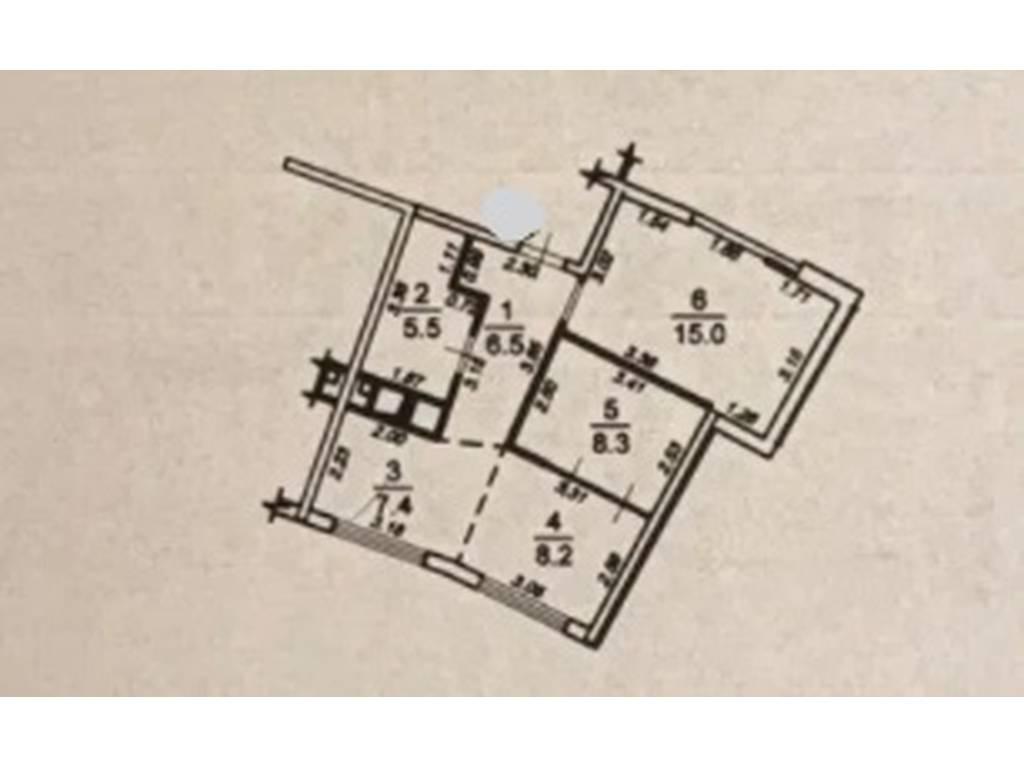 2-комнатная квартира, 51.00 м2, 97000 у.е.