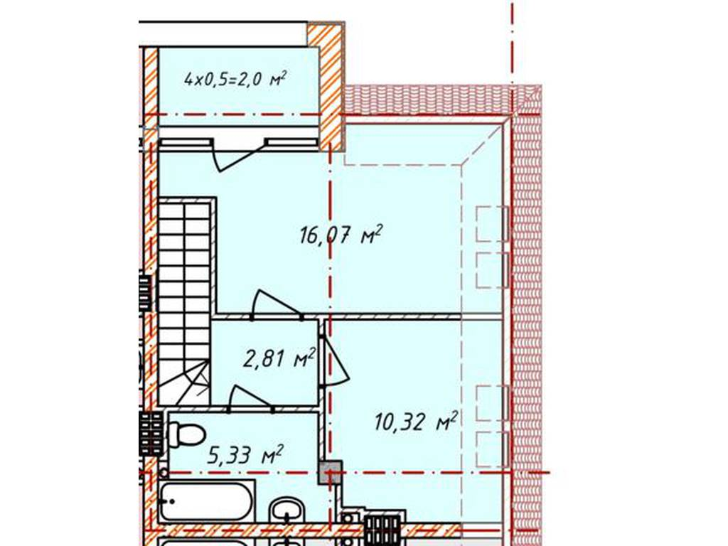 3-комнатная квартира, 84.00 м2, 100000 у.е.