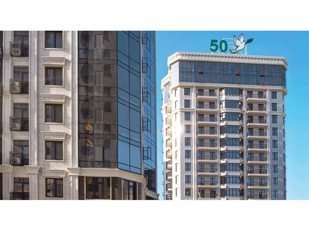 1-комнатная квартира, 43.00 м2, 67990 у.е.