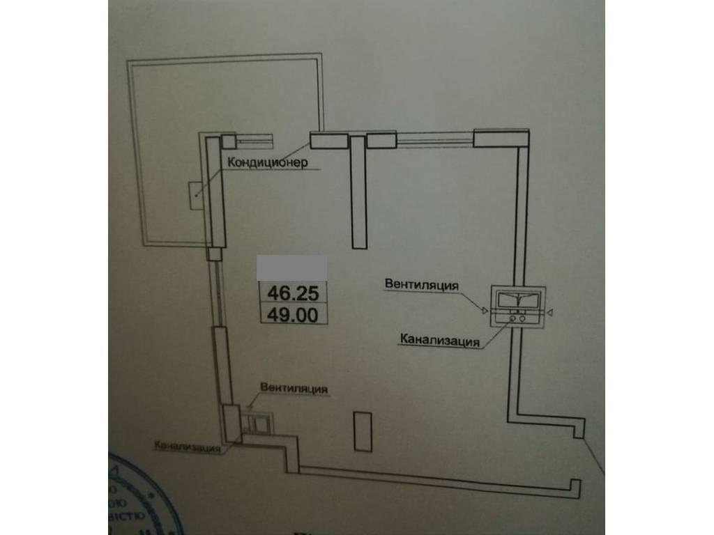 1-комнатная квартира, 49.00 м2, 55000 у.е.