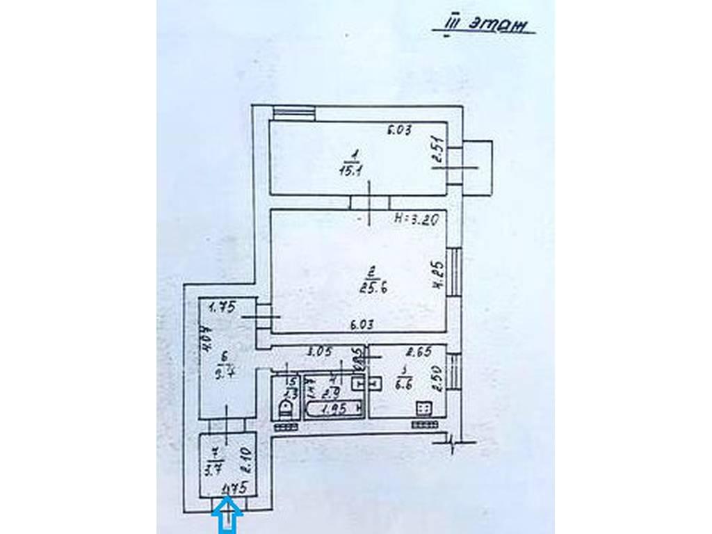 2-комнатная квартира, 65.00 м2, 59900 у.е.